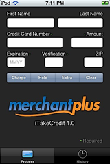 iTakeCredit Home Screen